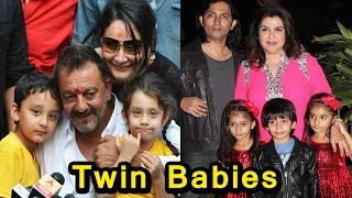 7 Tv Couples & Bollywood Couples Who Had Twin Babies