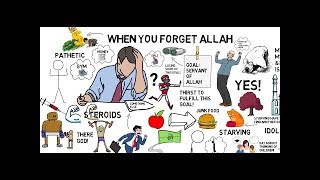WHAT HAPPENS WHEN YOU FORGET ALLAH | Nouman Ali Khan Animated