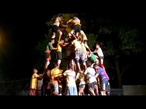 Shree Ekveera Devi Mitra Mandal Bhandup Phatak Dahi Handi Practice 2012- 7 Thar