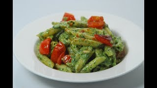 Penne With Spinach Pesto | Cooksmart | Sanjeev Kapoor Khazana