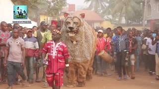 Cultural Heritage: Watch Tiger head Masquerade of Nnewi