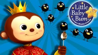 Sing a Song of Sixpence | Nursery Rhymes | By LittleBabyBum!