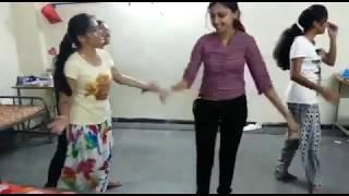 Private girls hostel  dance