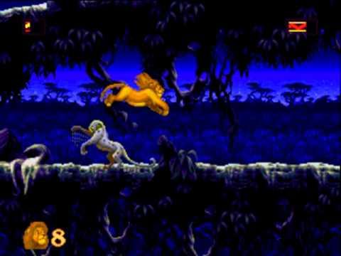 [Sega Genesis] - The Lion King - Level 7 - Simba's Destiny