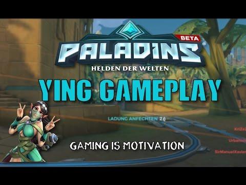 PALADINS Gameplay German   YING   Angezockt