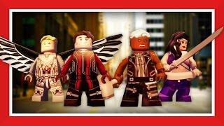 LEGO Marvel avengers - X-Men Apocalypse: The four horseman - custom characters STARTS AT 2:40