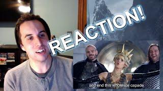 FREYA vs RAVENNA: Princess Rap Battle REACTION