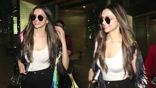 Deepika Padukone's HOT Look Returing From Cannes At Mumbai Airport