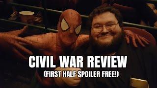 Civil War Review - First Half Spoiler FREE!