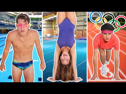 WE COMPETE IN THE OLYMPICS YouTuber Olympics