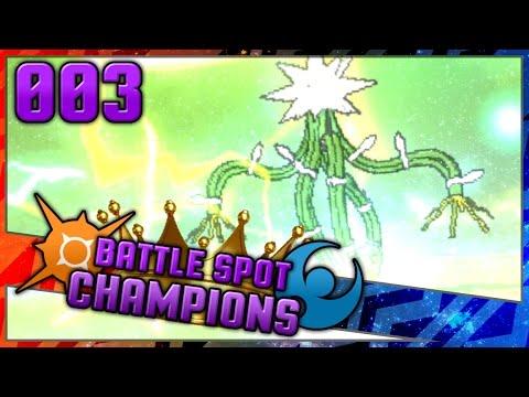 Short Xurkitree-d [#003] Pokemon Sun & Moon Live Wifi Battle Spot Champions S5W22