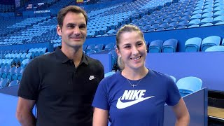 Team Switzerland: How well do you know each other?   Mastercard Hopman Cup 2018