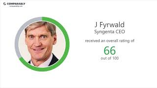 Syngenta's CEO and Office Environment - Q1 2019