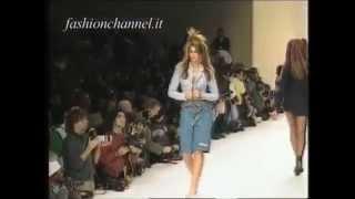 Cindy Crawford - catwalk