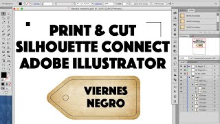 Print & Cut con Silhouette Connect y Adobe Illustrator