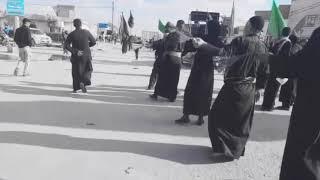 موكب الامام المهدي - اهالي الديوانية -تعزية بمناسبة الاستشهاد فاطمة الزهراء عليها السلام