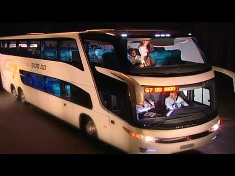 Lançamento Ônibus Paradiso G7 1800 Double Decker e 1600 Low Driver
