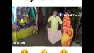 চাচার নাচ দেখে হাসতে হাসতে চার জন পানিতে পরে গেছে।bangla funy video bangla prank video