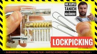 Jak otworzyć zamek kłódkę spinaczem biurowym? #LockPicking