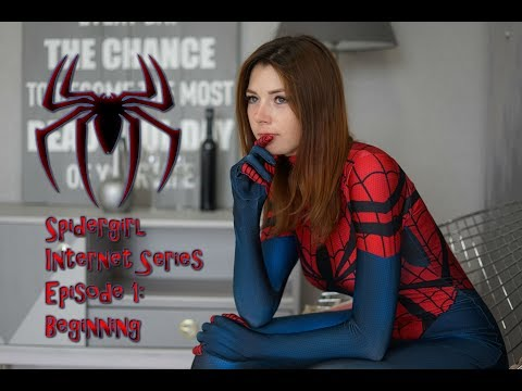 Spider-girl Internet Web-series Episode 1: The beginning  (Superheroine Fan Film)