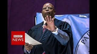 Mugabe Resigns: The resignation letter - BBC News