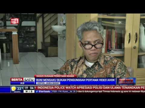 Buni Yani Bantah Edit Video Pidato Ahok