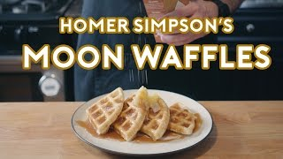 Binging with Babish: Homer Simpson's Patented Space Age Out-Of-This-World Moon Waffles