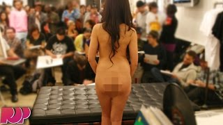 Shocking! Students Take Naked Final Exam With Teacher