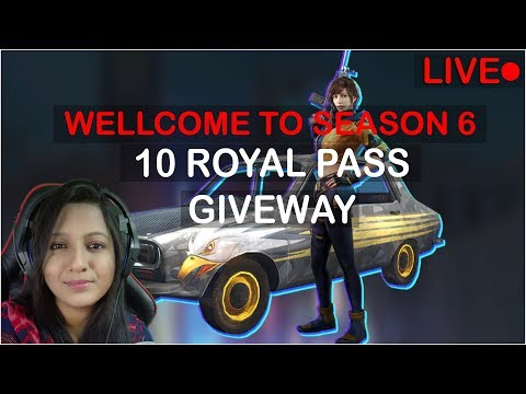 PUBG MOBILE 10 ROYAL PASS GIVEAWAY EARN ROSHOGULLA TO WIN RP