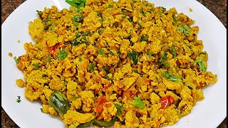 Spicy Masala Egg Bhurji/Muttai Podimas/Indian Scrambled Eggs