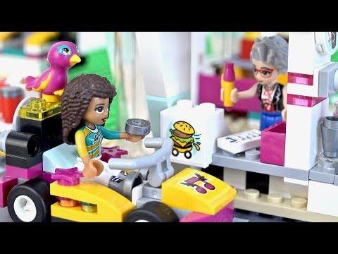 レゴ フレンズ 41349 ハートレイクグランプリ ハンバーガーショップ LEGO Friends Drifting Diner
