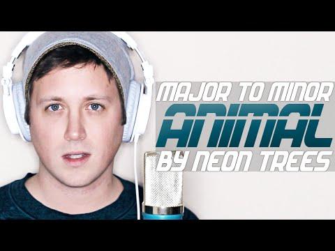 Animal by Neon Trees MINOR KEY VERSION