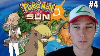 Pokemon SUN (odc. 4) - PIERWSZA PRÓBA! KAPITAN PRÓBY ILIMA
