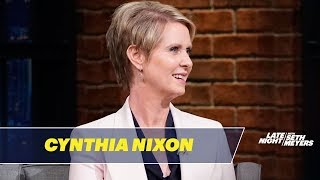 Cynthia Nixon on How She Would Fix New York City