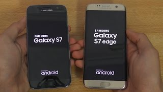 Samsung Galaxy S7 vs S7 Edge - Speed Test (4K)