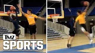 Lonzo Ball OBLITERATES UCLA Engineer Student In Dunk-Off I TMZ Sports