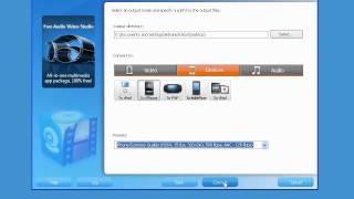 MediaProSoft Free 3GP Video Converter video tutorial