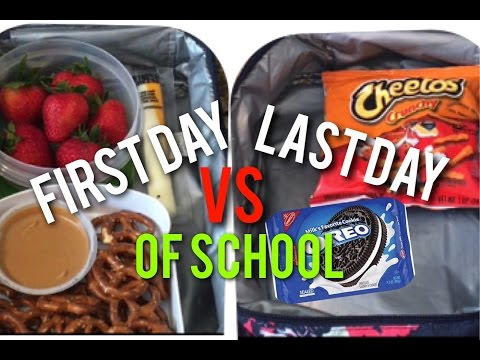 Xxx Mp4 First Day VS Last Day Of School ✏️😂 SuperSisters 3gp Sex