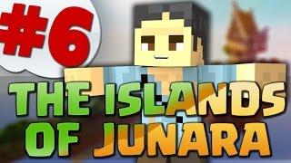 MINECRAFT: THE ISLANDS OF JUNARA: IL COTTAGE DIROCCATO E L'ISOLA DEI DIAMANTI!! #6