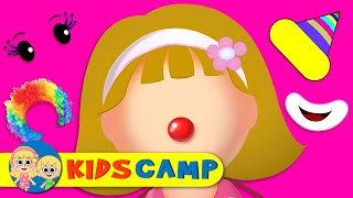 Wrong Face Silly Funny Clown Face With Elly Finger Family Song Nursery Rhymes by KidsCamp