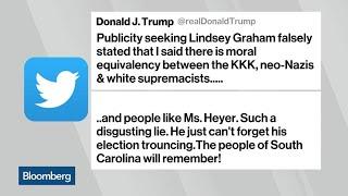 Trump Accuses Sen. Graham of Telling