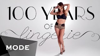 100 Years of Fashion: Lingerie ★ Mode.com