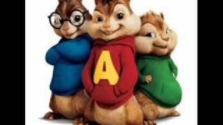 Alvin ja pikkuoravat -Den glider in