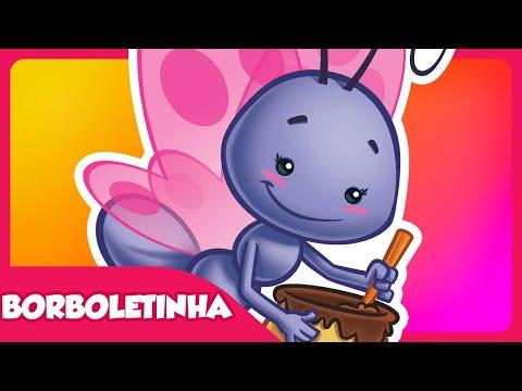Borboletinha DVD Galinha Pintadinha 2 Desenho Infantil