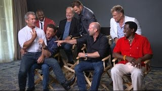 Sylvester Stallone, Cast Talk 'The Expendables 3'