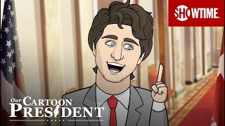Trump & Trudeau Press Conference | Our Cartoon President | SHOWTIME