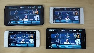 Nexus 6 vs. Huawei Ascend Mate 7 vs. Xiaomi Mi4 vs. iPhone 6 Gangstar Vegas Gameplay Review