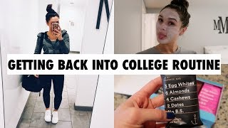 HEALTHY EATING AND A MINI NIGHT ROUTINE (VLOG STYLE) | Maggie Maggie MacDonald