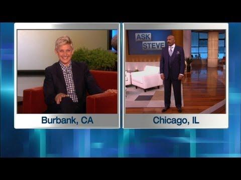 Ellen in Steve Harvey s Ear