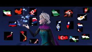 [Frozen] Let It Go   Asian Multi-Language [HD]